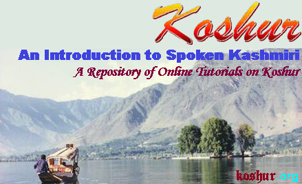 Koshur: An Introduction to Spoken Kashmiri Logo